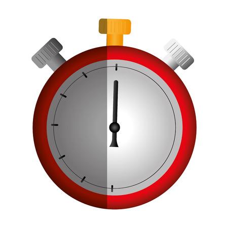 cronometro: cronómetro tiempo aislado icono vector ilustración diseño