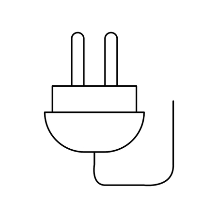 energy connector plug isolated icon vector illustration design Фото со стока - 75457644