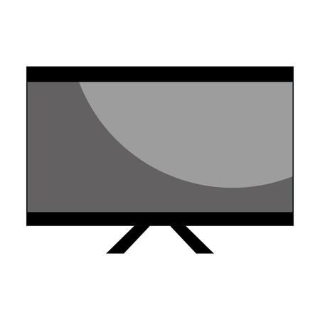 storage device: computer desktop with template icon vector illustration design