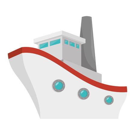 船クルーズのアイコン ベクトル イラスト デザイン  イラスト・ベクター素材