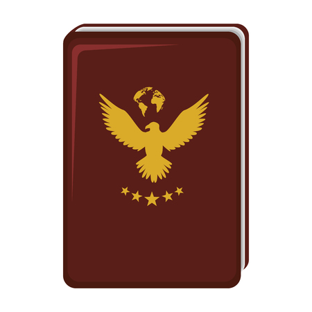 passport document isolated icon vector illustration design 版權商用圖片 - 75457778