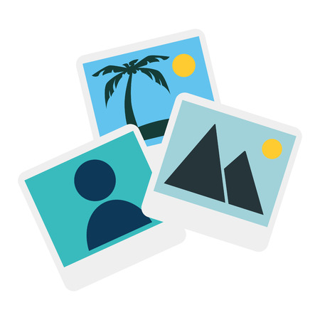 pictures files isolated icon vector illustration design Illustration