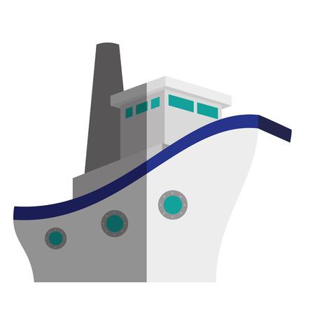 ship boat cruise icon vector illustration design Stok Fotoğraf - 75457808