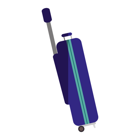 valise: suitcase travel isolated icon vector illustration design