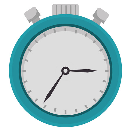 chronometer watch isolated icon vector illustration design Ilustrace