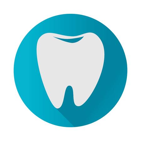 Dental healthcare treatment icon vector illustration design