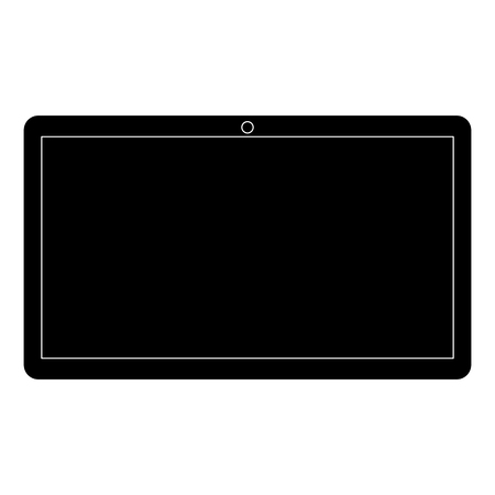 tablet device isolated icon vector illustration design Stock Photo