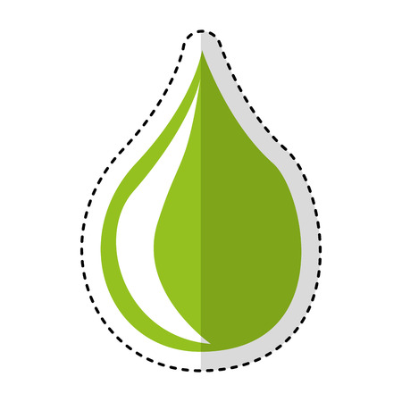 drop natural isolated icon vector illustration design