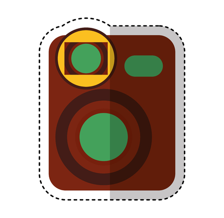 video handycam isolated icon vector illustration design Illustration