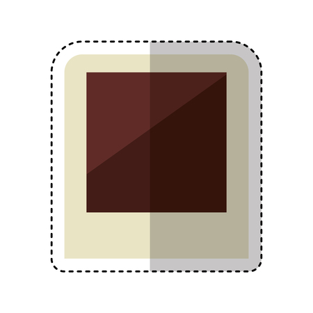 picture shot isolated icon vector illustration design