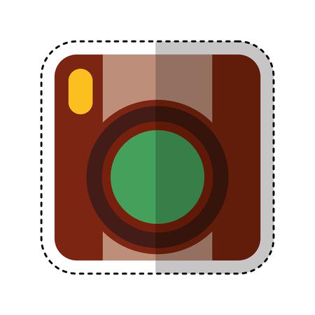 video handycam isolated icon vector illustration design Illustration