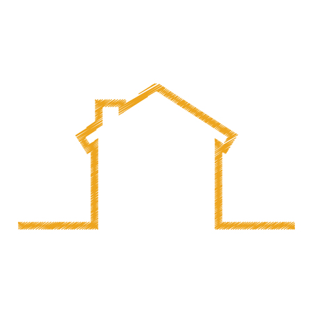 house exterior isolated icon vector illustration design Stok Fotoğraf - 75757242
