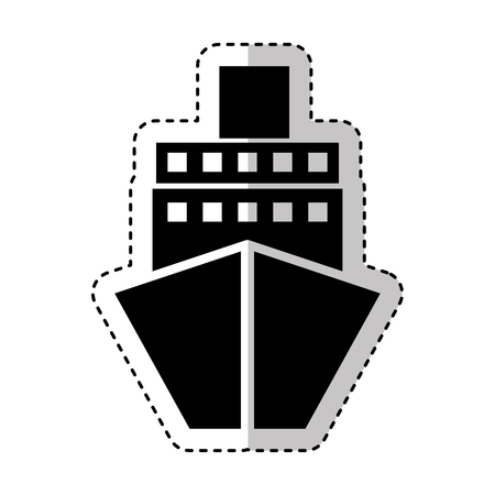 ship boat isolated icon vector illustration design Stok Fotoğraf - 75791196