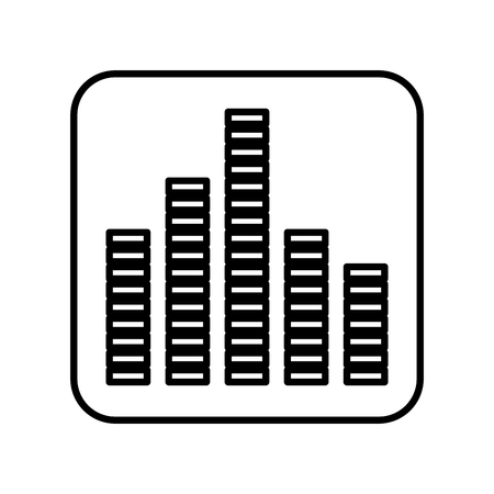 equalizer sound isolated icon vector illustration design