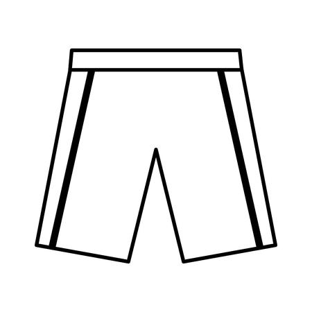 short team uniform icon vector illustration design