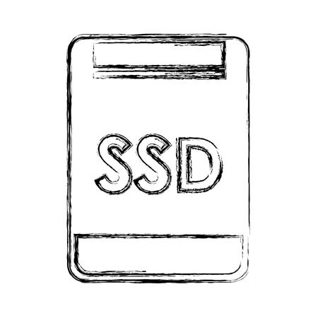 sd memory isolated icon vector illustration design Illustration