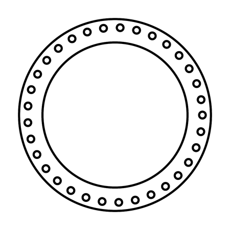 circle seal stamp icon vector illustration design Stock Vector - 75976729