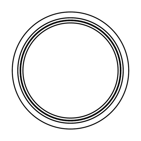 circle seal stamp icon vector illustration design Stock Vector - 75976730