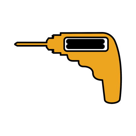 drill electric isolated icon vector illustration design