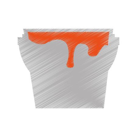 paint pot isolated icon vector illustration design 向量圖像