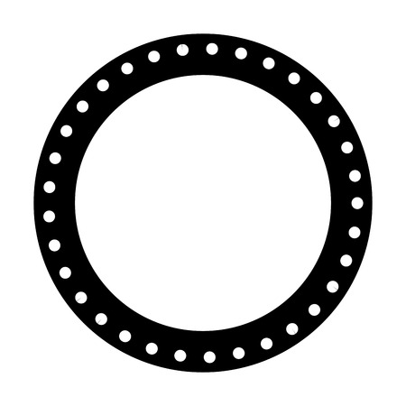 circle seal stamp icon vector illustration design Stock Vector - 75974232