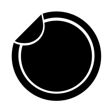 approbation: circle seal stamp icon vector illustration design