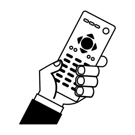 remote contgrol tv icon vector illustration design