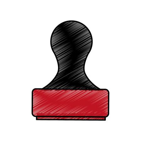 Dichtung Gummi isoliert Symbol Vektor-Illustration Design Standard-Bild - 75976255