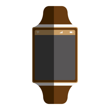 time smartwatch isolated icon vector illustration design Stock Vector - 75976895