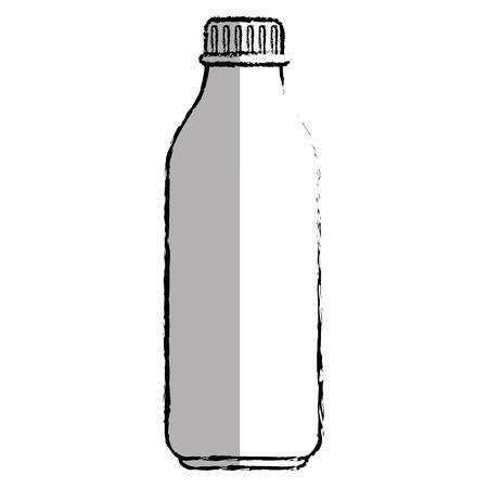 plastic bottle isolated icon vector illustration design Ilustração