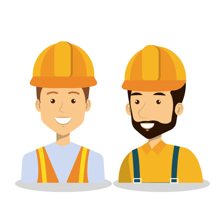 specialities: Professional construction people characters