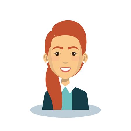 Geschäft avatar Zeichen-Symbol Vektor-Illustration, Design, Standard-Bild - 75993212
