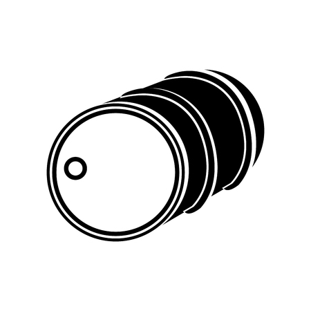 petrochemistry: oil container isolated icon vector illustration design
