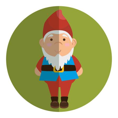 garden elf decorative icon vector illustration design Stock Vector - 76229540