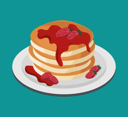 dessert muffin sweet icon vector illustration design