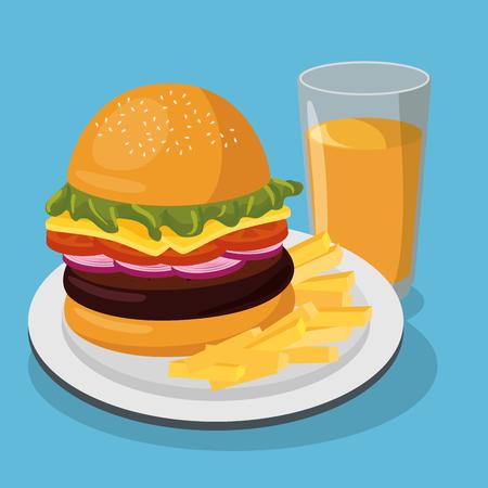dinnertime: nutritive food menu icon vector illustration design