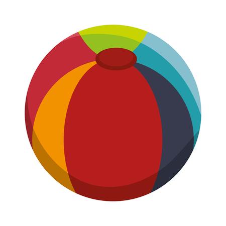 ball plastic isolated icon vector illustration design