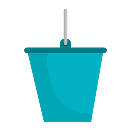 bucket tool isolated icon vector illustration design