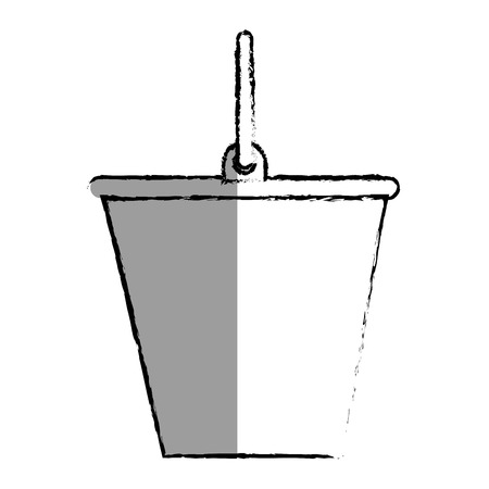 bucket tool isolated icon vector illustration design