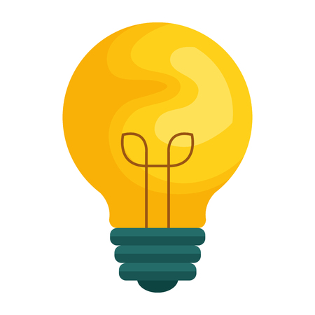 Bulb with template icon vector illustration design Illustration