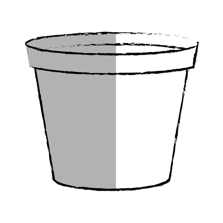 paint container: paint pot isolated icon vector illustration design Illustration