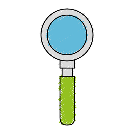 search magnifying glass icon vector illustration design Stock Vector - 76361284