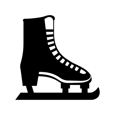 ice skate isolated icon vector illustration design