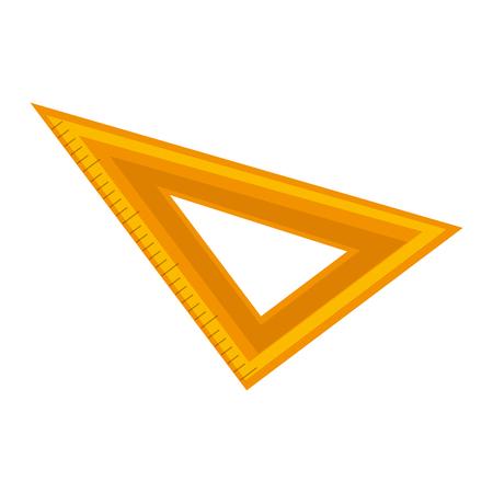 rule school isolated icon vector illustration design Stock Vector - 76359507