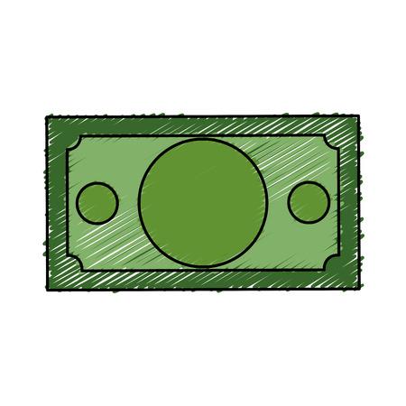 cash money: bills money isolated icon vector illustration design