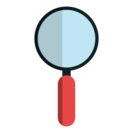 search magnifying glass icon vector illustration design Stock Vector - 76402000