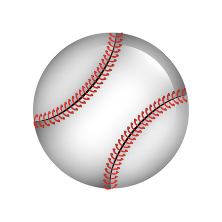ball baseball isolated icon vector illustration design