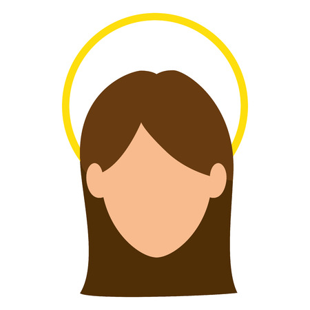jesuschrist: Jesus Christ avatar character icon vector illustration design Illustration