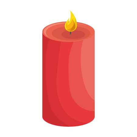 spa candle isolated icon vector illustration design