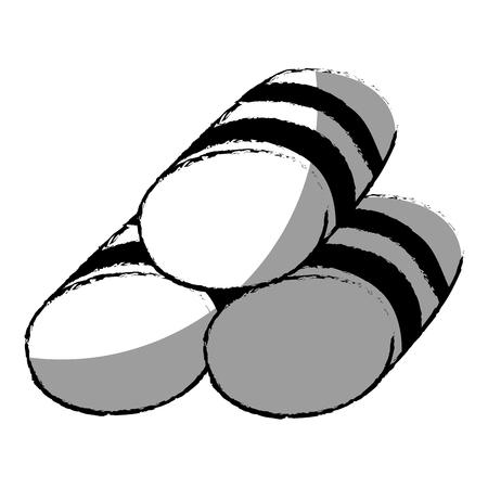 Set towels spa icon vector illustration design